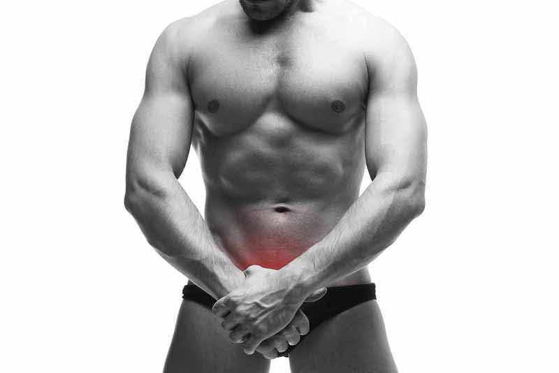 A férfi nemi szerv közelebbről